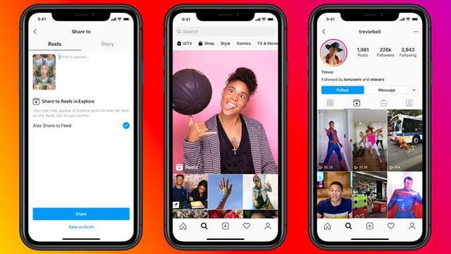 Facebook's TikTok Clone Instagram Reels is Here