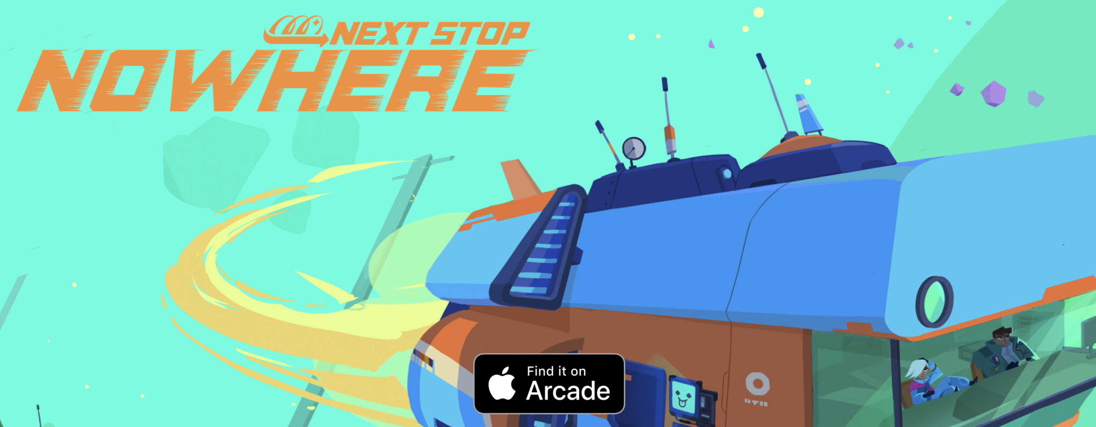 Next Stop Nowhere Lands on Apple Arcade
