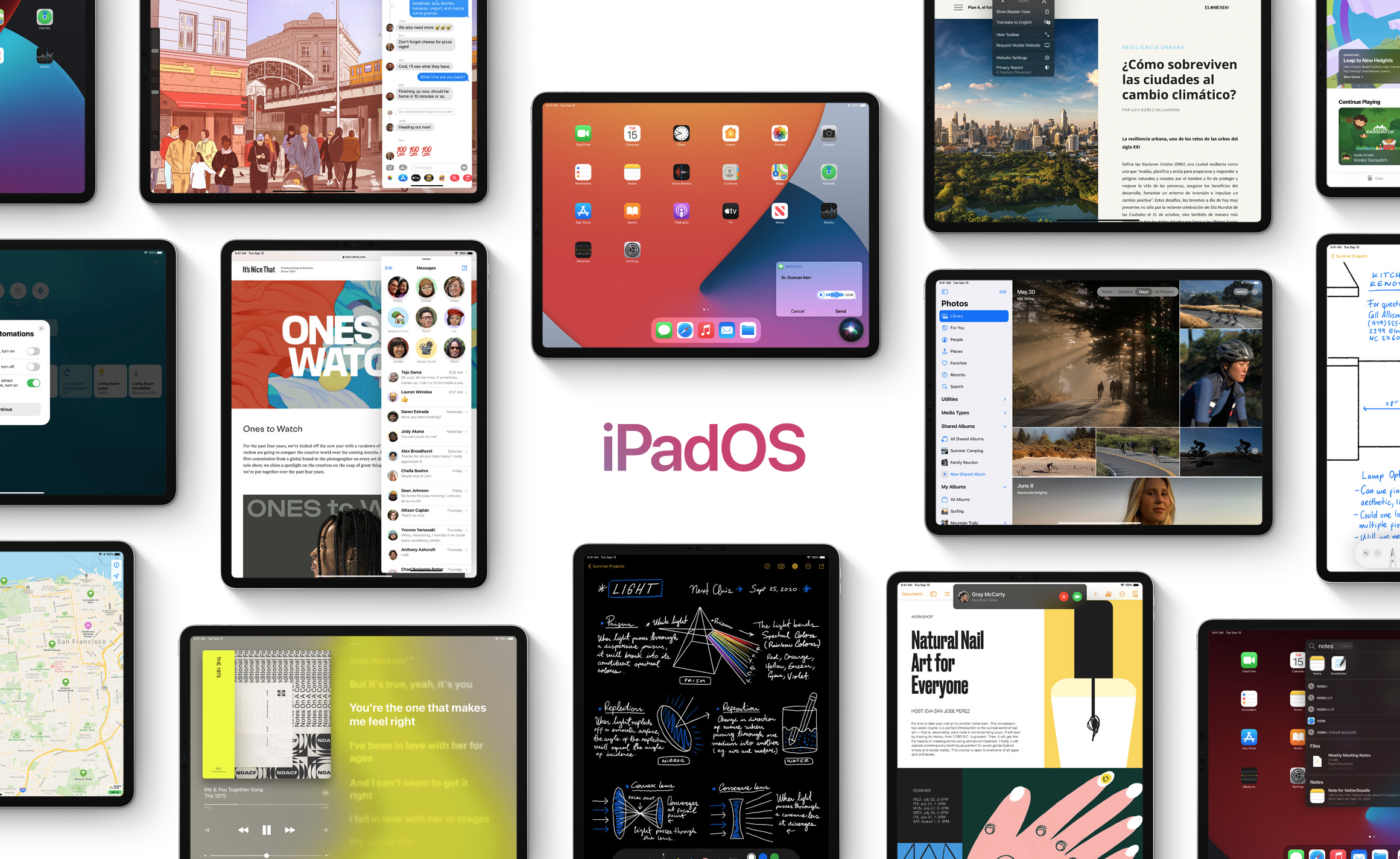 photo of iPadOS 14 Offers A Number of Tablet-Specific Improvements, Handwriting Recognition for Apple Pencil image
