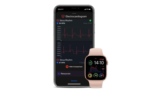 Heart Analyzer Gains Blood Oxygen Saturation Support With Apple Watch Series 6 and More
