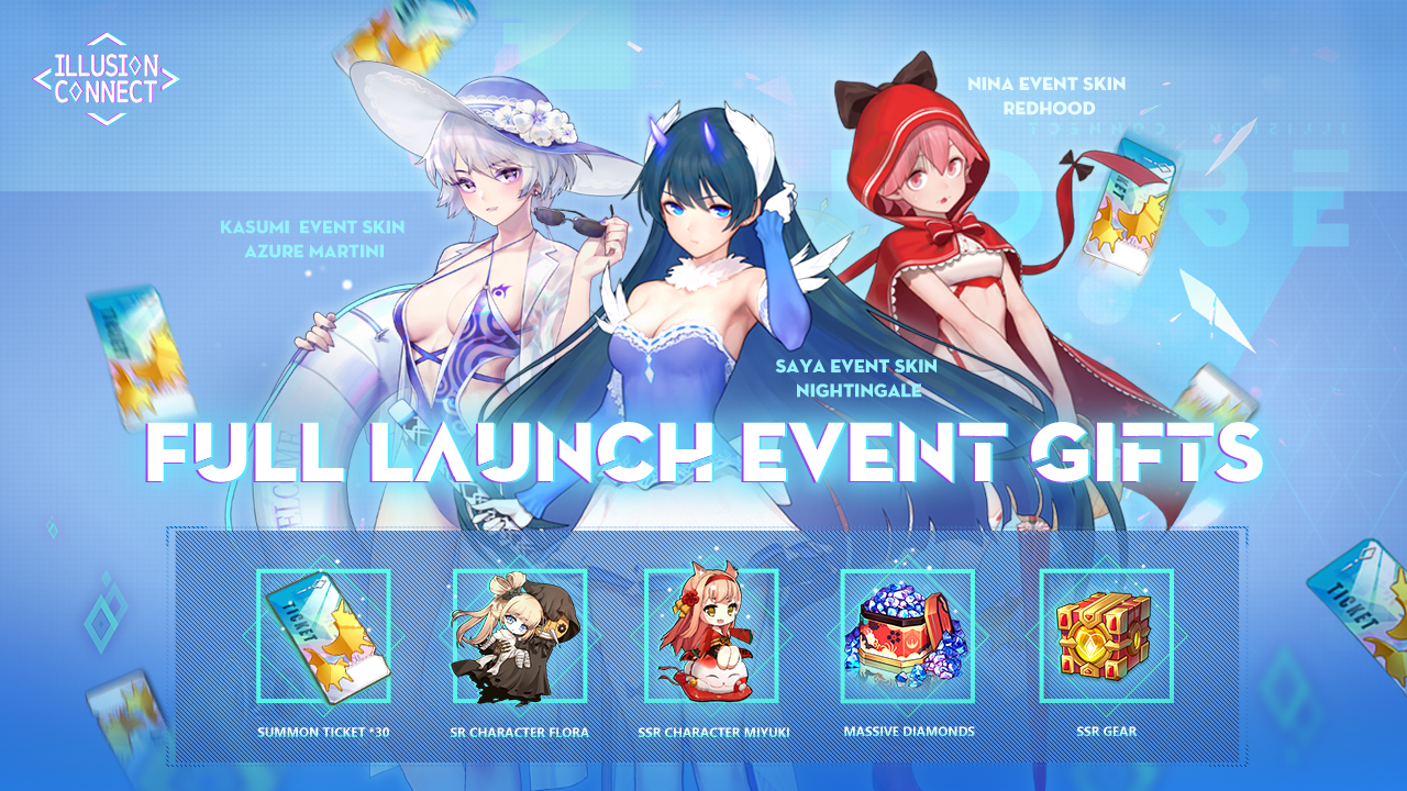 photo of Anticipated Tactical Shojo RPG Illusion Connect Launches After Hitting 600k Pre-registrations image