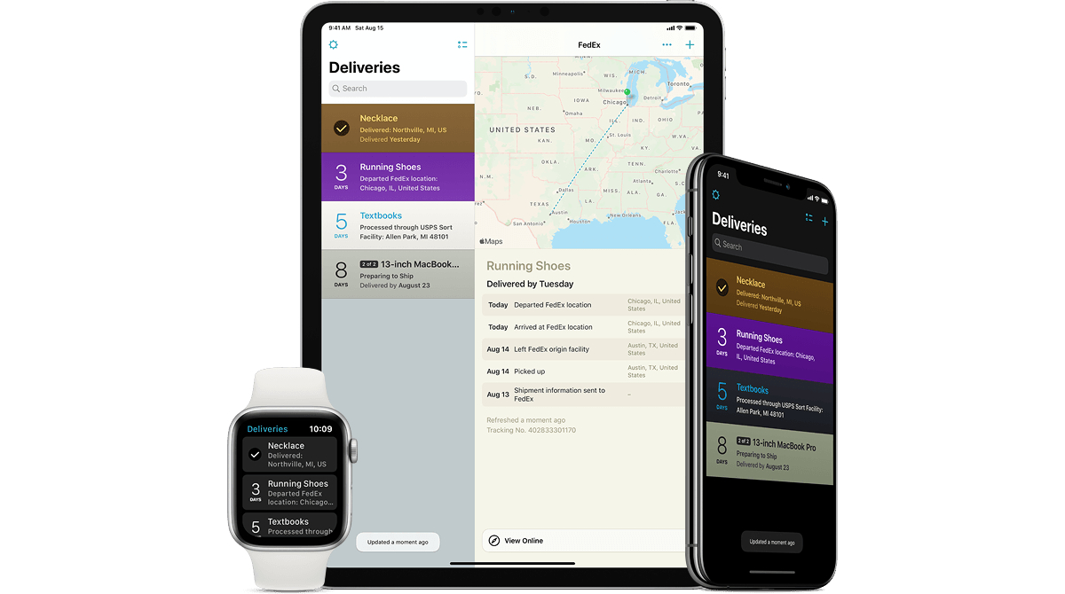 photo of Package Tracking App Deliveries Update Arrives With Full Tracking History and More image