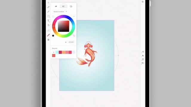 Adobe Illustrator Arrives on iPad