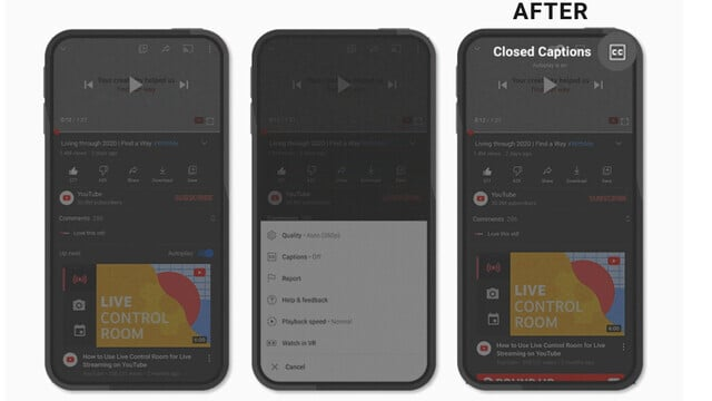 New Control Options Arriving on the YouTube App
