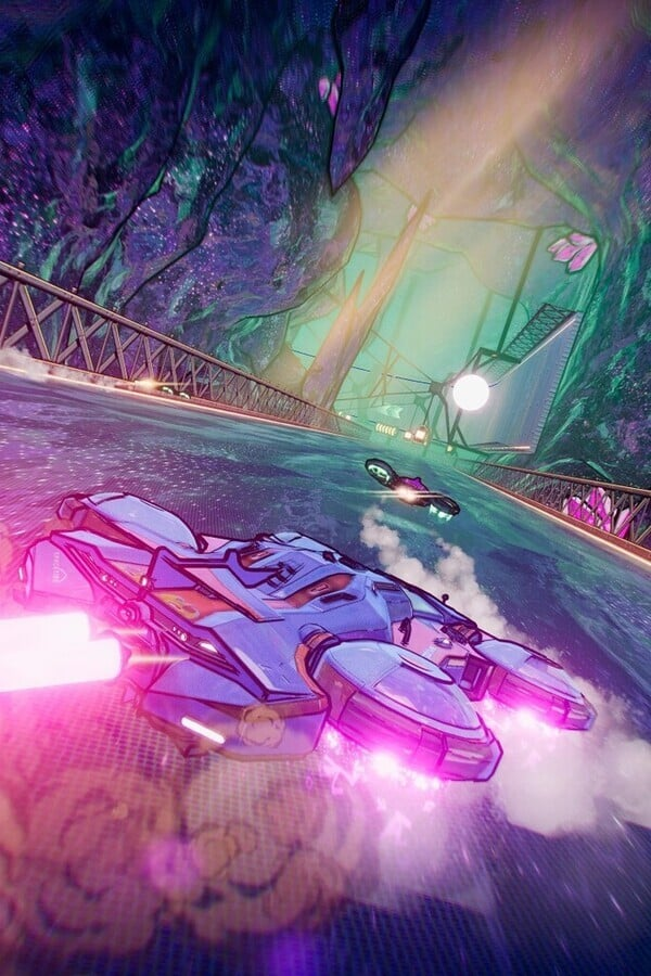 Warp Drive is a Fast-Paced Arcade Racer With a Fun Twist