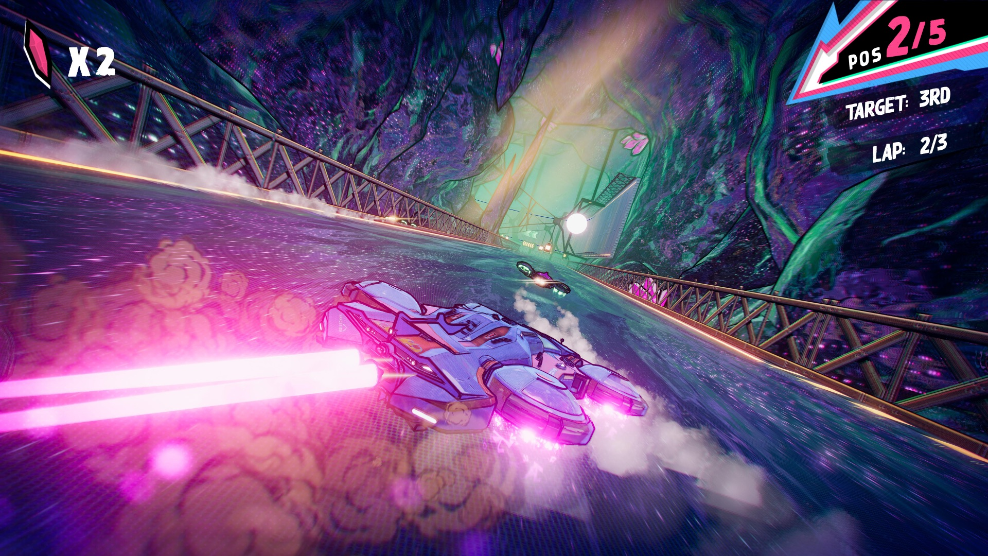 photo of Warp Drive is a Fast-Paced Arcade Racer With a Fun Twist image