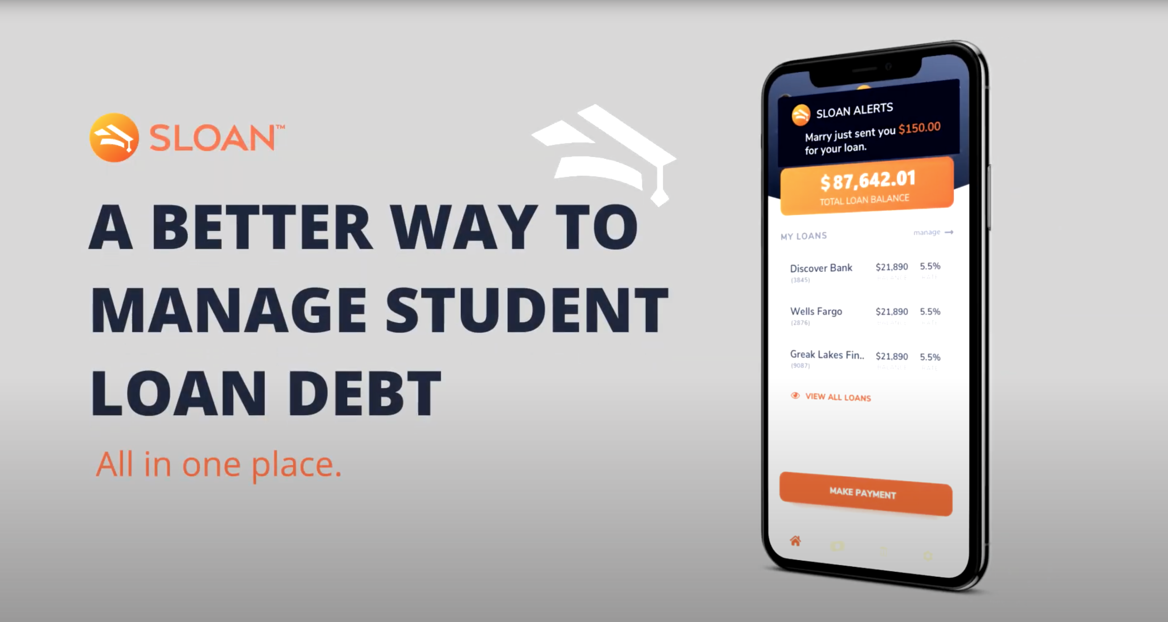 photo of Sloan Is a Student Loan Dashboard App That Lets You Crowdfund, Apply Credit Card Round-ups, and Much More image