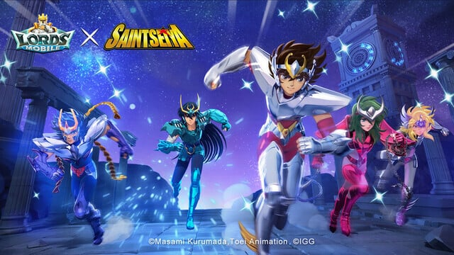 Lords Mobile Saint Seiya Collaboration Event Brings Pegasus Seiya to the Hit Real-Time Battle RPG