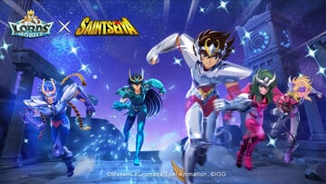 Lords Mobile Saint Seiya Collaboration Event Brings Pegasus Seiya to the Hit Real-Time Battle RPG