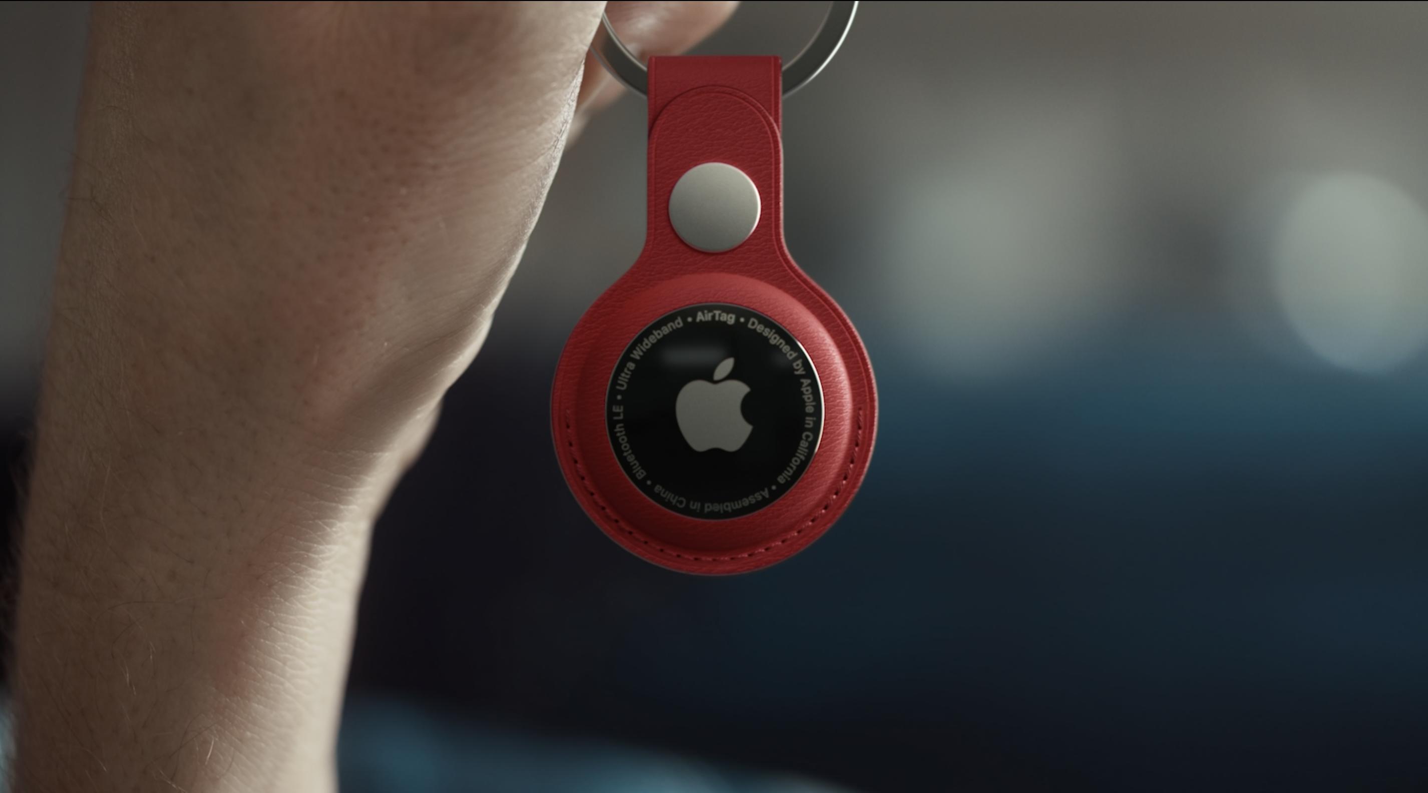 Apple unveils the long-awaited AirTag