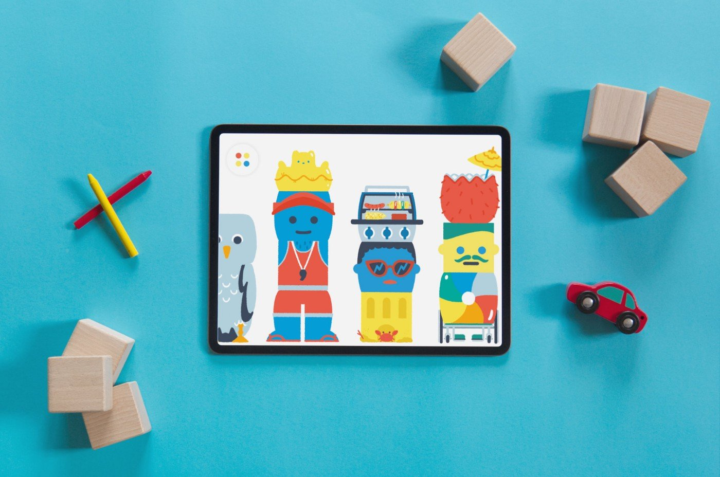 photo of Amazing Kids App Pok Pok Playroom Updated With Silly Blocks: Summer image