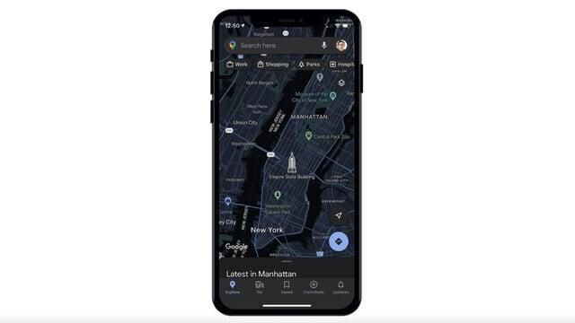 Dark Mode is Finally Arriving For Google Maps
