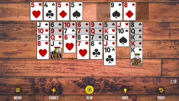 FreeCell, from Mongoose.net, Is an Accessible Take on the Popular Solitaire Variant