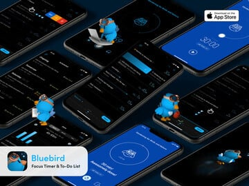 Bluebird Brings Together a Focus Timer and To-Do App to Help You Accomplish More