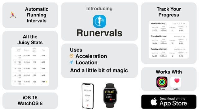 Automatically Track Your Running Intervals With Runervals