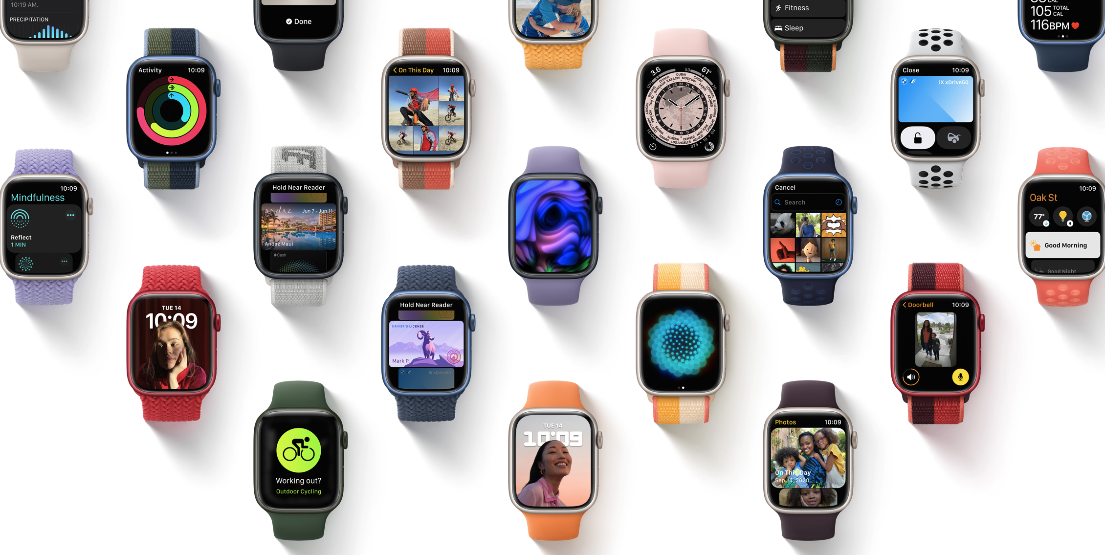 photo of watchOS 8 Brings New Watch Faces, Mindfulness App and More image