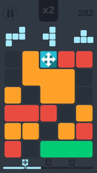 Threes and Tetris slide together to make Joinz, an addictive endless puzzle game