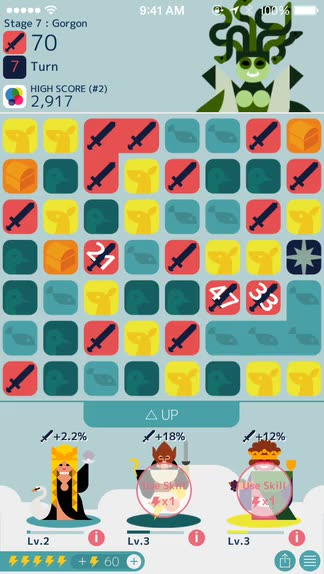 Match and stack your way to victory among Greek gods in MUJO