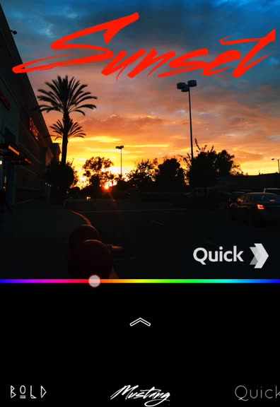 With Quick, adding text to photos has never been faster