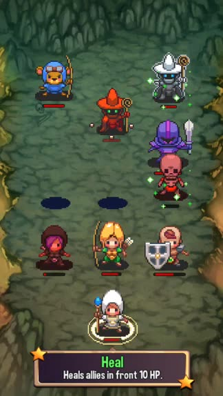 You need to be coordinated to survive in Swap Heroes, a new turn-based strategy game