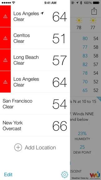 Make the weather your own with BeWeather 2, a powerful and comprehensive weather app