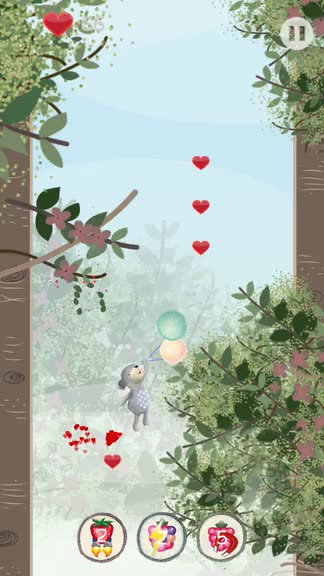 Adventure through magical tree tops with the Poppets, a cute and challenging arcade game