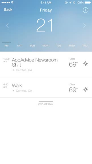 Know how the weather affects your plans thanks to Weather or Not