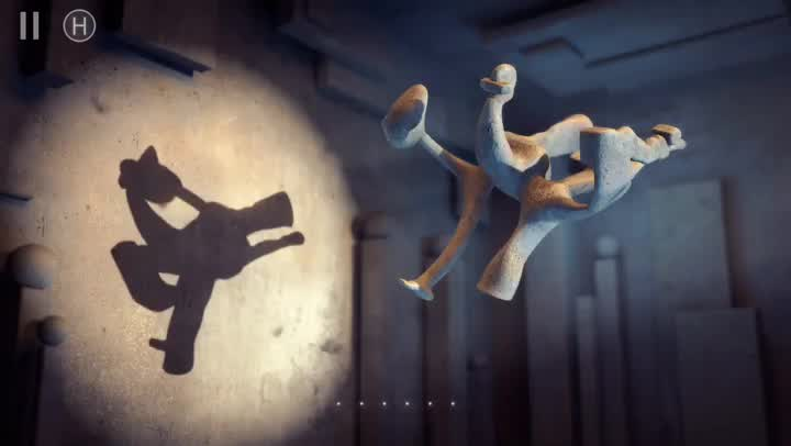 Use your imagination to the fullest in Shadowmatic, a relaxing puzzle game