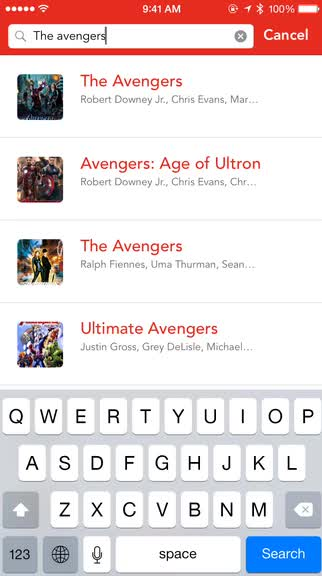 Discover and track upcoming movies and recommendations in a beautiful way with Plot