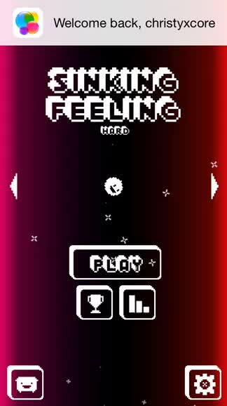 Fall and smash your way to the top of the charts in Sinking Feeling, a twitchy arcade game