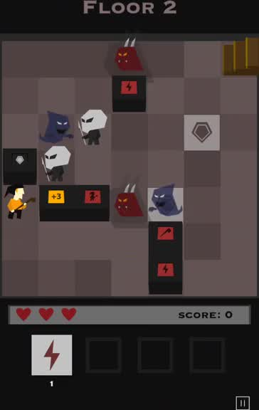 Arcane Tower is a roguelike strategy game with challenging new rules