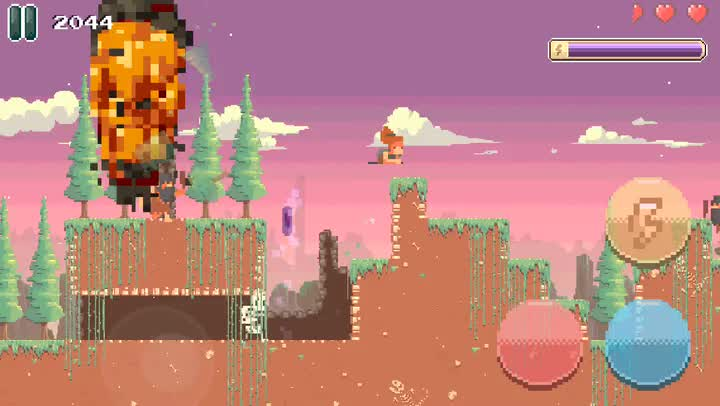 Bit Journey is a retro hack-n-slash game about surviving in a world gone mad