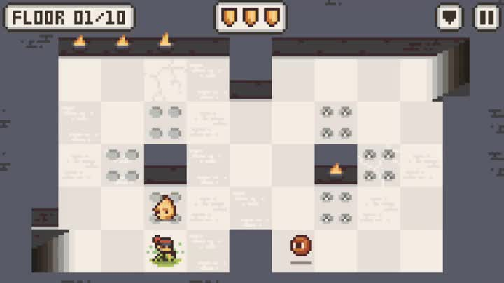 Stay sly to survive in Microgue, the new roguelike from Crescent Moon Games