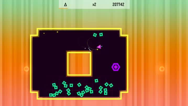 Trigonarium is an explosive new challenge for fans of dual-stick shooter arcade games
