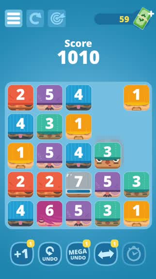 Match and merge your way to 13 Thieves, a cute number puzzle