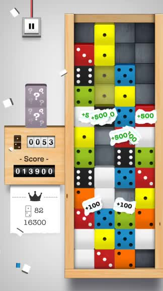 Can you master Domino Drop, a stimulating new puzzler?