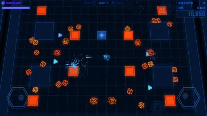 Obliterate foes in Devastator, the new Radiangames shooter