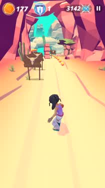 Get in touch with your spirit animal in Infinite Skater