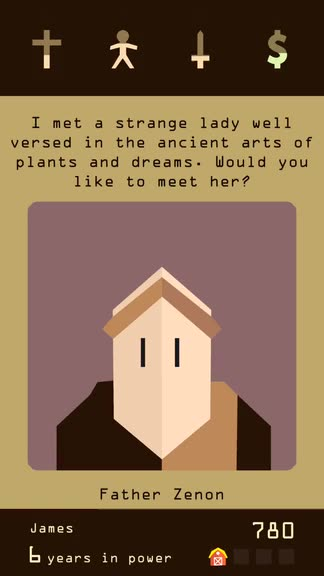 You're the King of Your Own Kingdom in Reigns by Devolver Digital