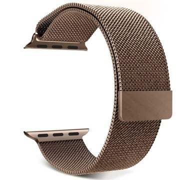 The Best Non-Apple Brown The Best Replica Milanese Loop Apple Watch Band