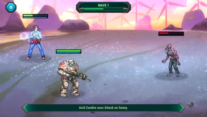 Save the World From Rampaging Mutant Zombies in Sonny