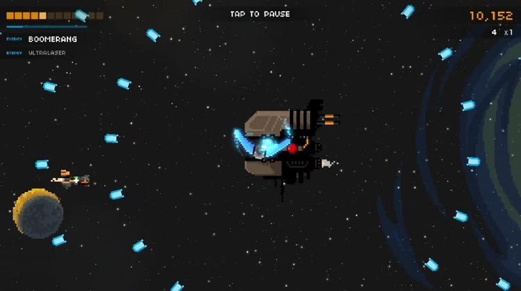 Embrace the Chaos of Space in Steredenn, Now on iOS