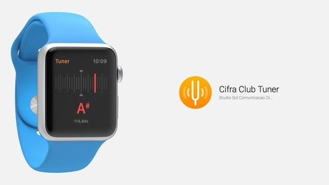 Tune Stringed Instruments With Apple Watch, Thanks to Cifra Club Tuner